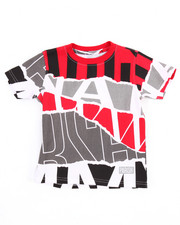 Tops - OFF THE RIP ALL OVER PRINT TEE (2T-4T)