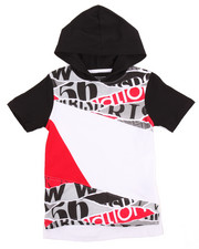 Boys - OFF THE RIP HOODED TEE (4-7)