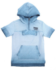 Boys - FADED S/S HOODY (8-20)