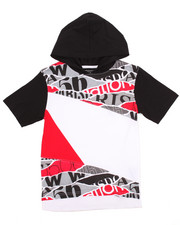 Boys - OFF THE RIP HOODED TEE (8-20)