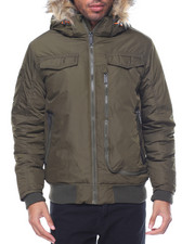 Light Jackets - Ben Sherman Nylon Bomber Jacket