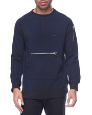 Men - Military Crew Sweatshirt