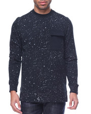 Men - Paint Splatter Sweatshirt