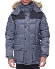 Men - Ben Sherman Nylon Bubble Jacket