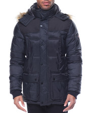 Light Jackets - Ben Sherman Nylon Bubble Jacket