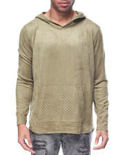 Men - Suede Hoody