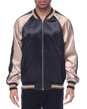 Light Jackets - Plain Satin Jacket