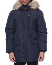 Men - Ben Sherman Paratrooper Hooded Parka