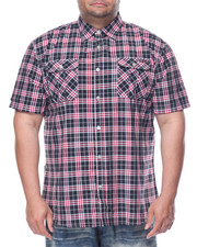 Enyce - Enyce Plaid S/S Button-Down (B&T)