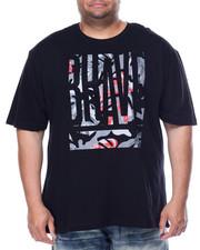 Akademiks - Brave Rhinestone T-Shirt (B&T)