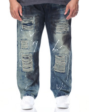 Jeans - Enyce Distressed Denim Jeans (B&T)