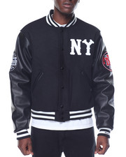 Men - NEW YORK BLACK YANKEES VARSITY JACKET
