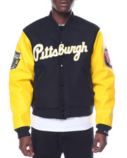 Outerwear - PITTSBURGH CRAWFORDS VARSITY JACKET