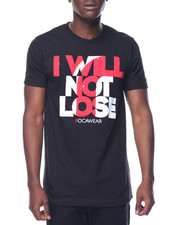 Shirts - I Will Not Lose Tee