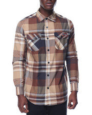 Shirts - Enyce Plaid L/S Button-Down