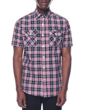 Button-downs - Enyce Plaid S/S Button-Down