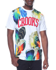 Shirts - Crooks Floral T-Shirt
