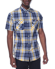 Enyce - Enyce Plaid S/S Button-Down