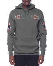 Crooks & Castles - Get High Hooded Pullover