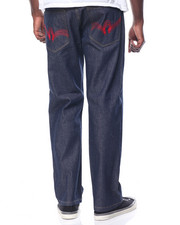 Men - Triple R Script Denim Jeans