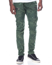 Men - Canvas Moto Pant