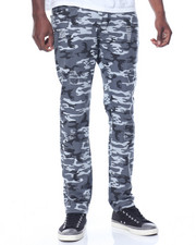Men - Stretch Fabric Camo Pants