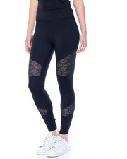 Leggings - Mesh Insert Active Legging