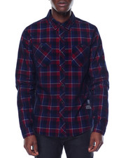 Men - Flannel with Zip detail