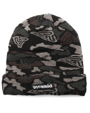 Men - Pyramid Camo Skully