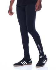 Athleisure for Men - Lights Out Printed Tech Compression Tights