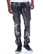 Ensign Grey Moto Jean