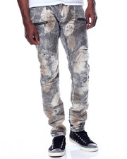Men - Arona Dirty Moto Jean