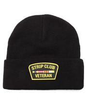 Men - STRIP CLUB VETERAN BEANIE