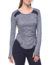 Tops - Lights Out Pullover w/ Mesh