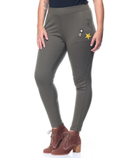 Fashion Lab - Cargo Legging w/ Patches (plus)