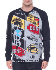 Men - Earnhardt Raglan Crew Sweatshirt