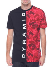 Men - Pyramid Camo Split S/S Tee