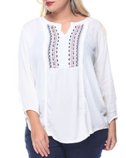 Tops - Maureen Peasant Top (plus)