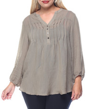 Tops - Melly Peasant Top (plus)
