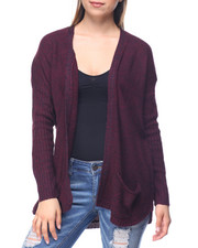 Fashion Lab - Curved Hem Cardigan