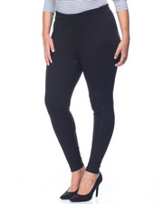 Bottoms - Legging w/ Side Panels and Top Stitching Details (plus)