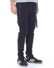 Sweatpants - Anarchy French Terry Cargo Joggers
