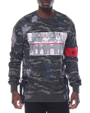 Sweatshirts & Sweaters - Anarchy Tie - Dye French Terry Crewneck Top