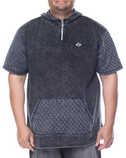 Men - Garment Washed Hoodie (B&T)
