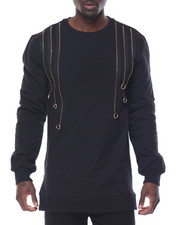 Buyers Picks - Raining Zips Crewneck Sweatshirt