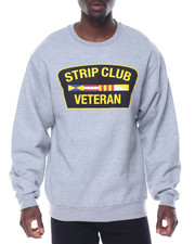 Sweatshirts & Sweaters - STRIP CLUB VETERAN CREWNECK