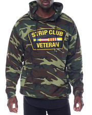 Hoodies - STRIP CLUB VETERAN PREMIUM FLEECE HOODIE
