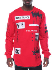 Sweatshirts & Sweaters - Anarchy Patched French Terry Crewneck Sweatshirt