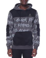 Hoodies - B L K P Y R M D All - Over Pullover Hoodie