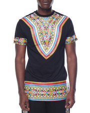 Men - Tribal Print Tee